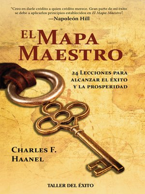 cover image of El mapa maestro