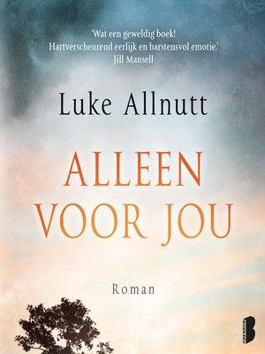 cover image of Alleen voor jou