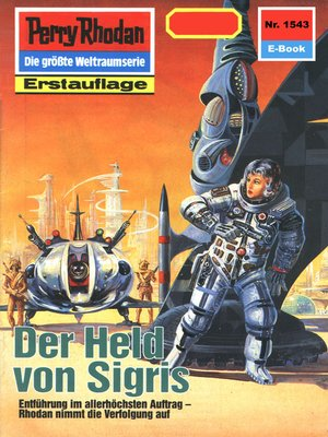 cover image of Perry Rhodan 1543