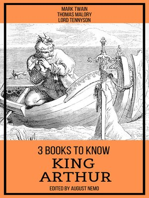 cover image of 3 books to know King Arthur