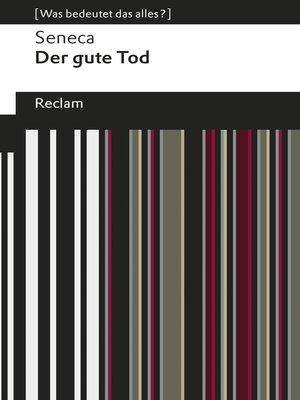 cover image of Der gute Tod