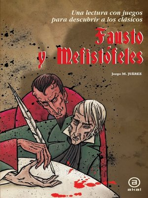 cover image of Fausto y Mefistófeles