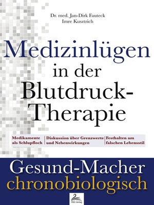 cover image of Medizinlügen in der Blutdruck-Therapie