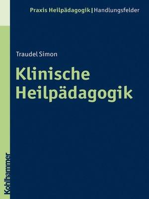 cover image of Klinische Heilpädagogik