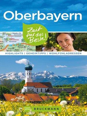 cover image of Bruckmann Reiseführer Oberbayern