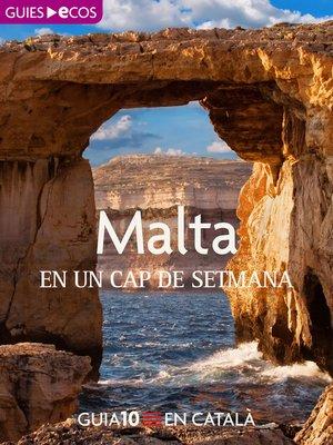 cover image of Malta. En un cap de setmana