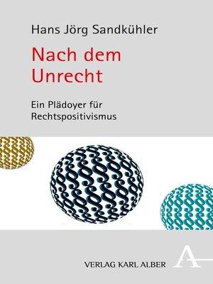 cover image of Nach dem Unrecht