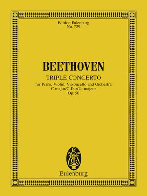 cover image of Triple Concerto C major