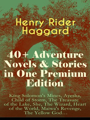 cover image of 40+ Adventure Novels & Stories in One Premium Edition