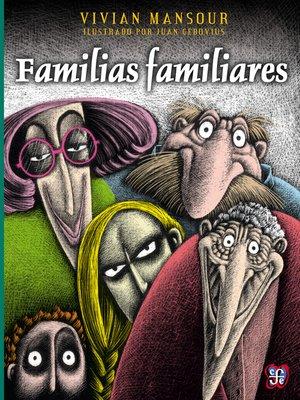 cover image of Familias familiares