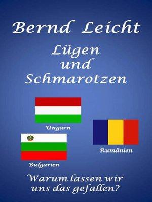cover image of Lügen und Schmarotzen