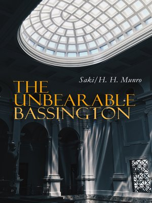 cover image of The Unbearable Bassington