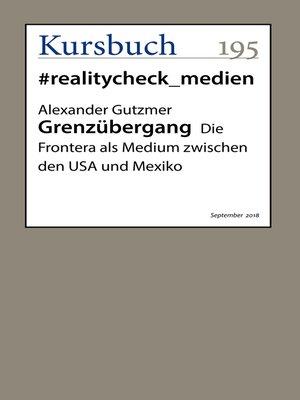 cover image of Grenzübergang