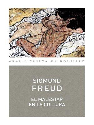 cover image of El malestar en la cultura