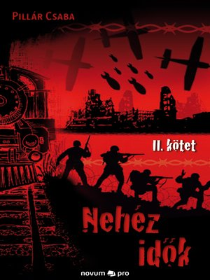 cover image of Nehéz idõk