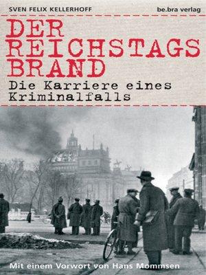 cover image of Der Reichstagsbrand