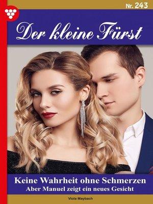 cover image of Der kleine Fürst 243 – Adelsroman