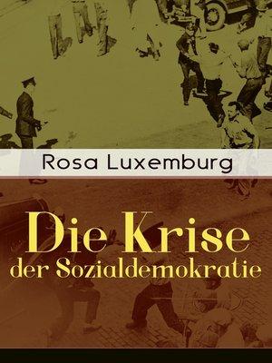 cover image of Die Krise der Sozialdemokratie