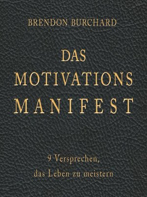 cover image of Das MotivationsManifest