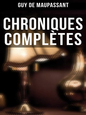cover image of Chroniques complètes