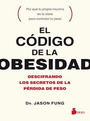 cover image of El código de la obesidad