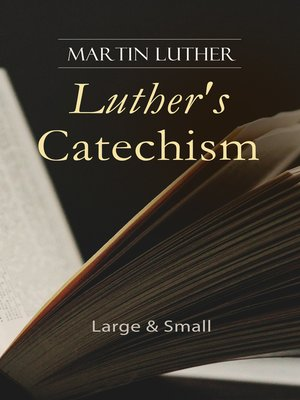 cover image of Luther's Catechism