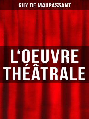 cover image of L'oeuvre théâtrale