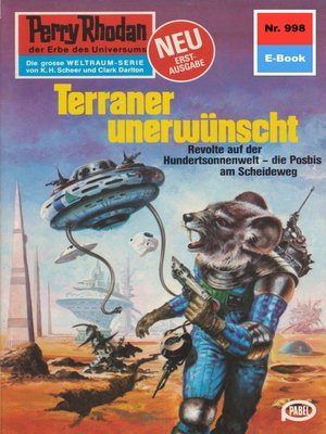 cover image of Perry Rhodan 998