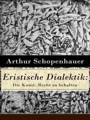 cover image of Eristische Dialektik