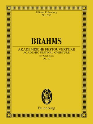 cover image of Academic Festival Overture