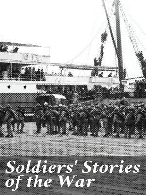 cover image of Soldiers' Stories of the War