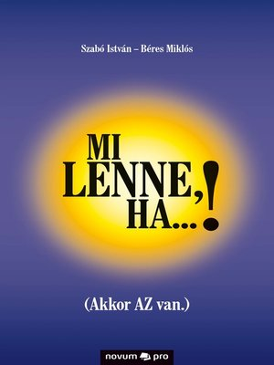 cover image of Mi lenne, ha...!