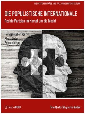cover image of Die populistische Internationale