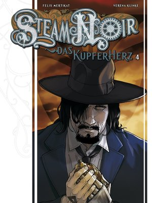 cover image of Steam Noir--Das Kupferherz 4