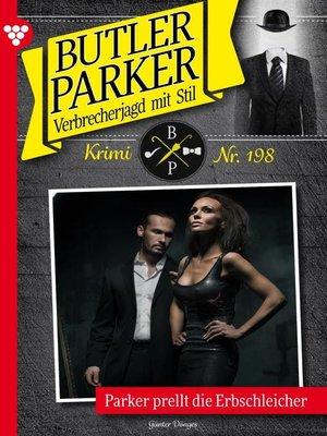 cover image of Butler Parker 198 – Kriminalroman