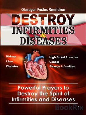 cover image of DESTROY INFIRMITIES & DISEASES