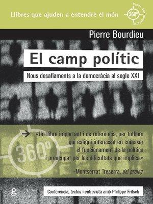 cover image of El camp polític