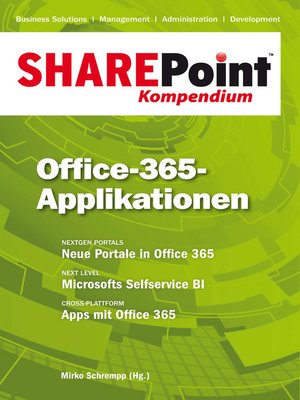cover image of SharePoint Kompendium--Bd. 10