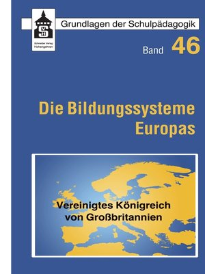 cover image of Die Bildungssysteme Europas--Vereinigtes Königreich von Großbritannien