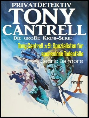 cover image of Tony Cantrell #9