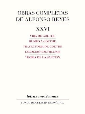 cover image of Obras completas, XXVI