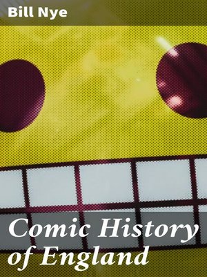 cover image of Comic History of England