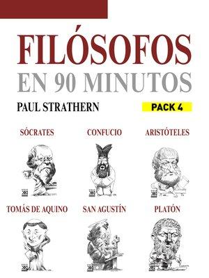 cover image of En 90 minutos--Pack Filósofos 4