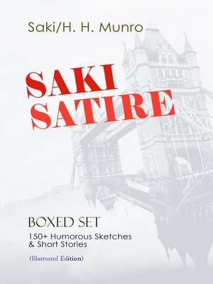 cover image of SAKI SATIRE Boxed Set