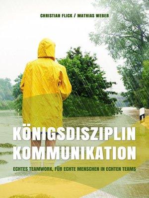 cover image of Königsdisziplin Kommunikation