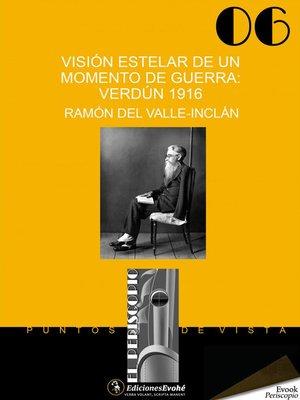 cover image of Visión estelar de un momento de guerra