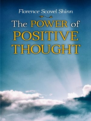 cover image of The Power of Positive Thought