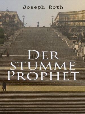 cover image of Der stumme Prophet