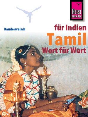 cover image of Reise Know-How Sprachführer Tamil Wort für Wort