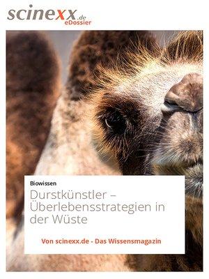 cover image of Durstkünstler